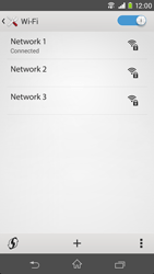 Sony D2303 Xperia M2 - WiFi and Bluetooth - Manual configuration - Step 8