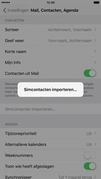 Apple iPhone 6 Plus met iOS 9 (Model A1524) - Contacten en data - Contacten kopiëren van SIM naar toestel - Stap 5