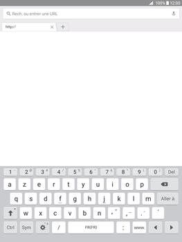 Samsung Galaxy Tab A - Internet et connexion - Naviguer sur internet - Étape 5