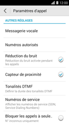 Huawei Ascend Y550 - Messagerie vocale - configuration manuelle - Étape 5