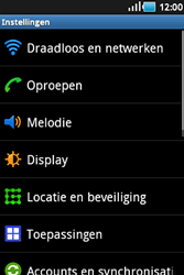 Samsung S5830 Galaxy Ace - Internet - Uitzetten - Stap 4