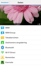 BlackBerry Leap - Contacten en data - Foto