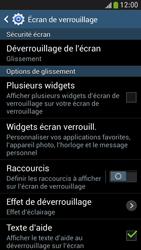 Samsung Galaxy S4 Mini - Sécuriser votre mobile - Activer le code de verrouillage - Étape 6