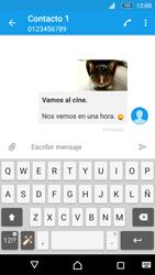 Sony Xperia M5 (E5603) - Mensajería - Escribir y enviar un mensaje multimedia - Paso 18