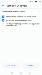 Huawei P9 Lite - Android Nougat - E-mail - Configuration manuelle (outlook) - Étape 9