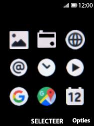 Nokia 8110-ta-1071 - Internet - Hoe te internetten - Stap 2