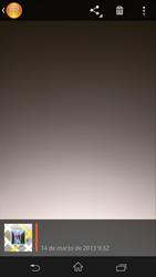 Sony Xperia Z - Funciones básicas - Uso de la camára - Paso 11
