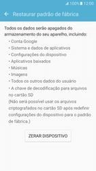 Samsung Galaxy S7 - Funções básicas - Como restaurar as configurações originais do seu aparelho - Etapa 9