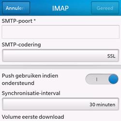 BlackBerry Q10 - E-mail - Handmatig instellen - Stap 14