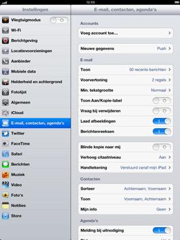 Apple iPad 4th generation - E-mail - e-mail instellen: POP3 - Stap 4