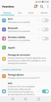 LG V30 - Internet - Désactiver les données mobiles - Étape 6