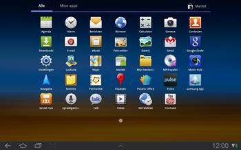 Samsung P7500 Galaxy Tab 10-1 - MMS - afbeeldingen verzenden - Stap 2