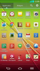 LG G2 - Voicemail - Handmatig instellen - Stap 3