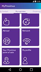 LG X Power - Applications - MyProximus - Step 17