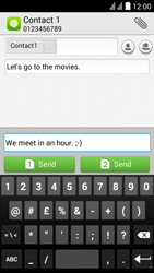 Huawei Y625 - MMS - Sending pictures - Step 10