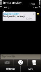 Nokia E7-00 - Internet - Automatic configuration - Step 4