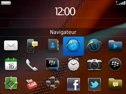 BlackBerry 9900 Bold Touch - Internet - Navigation sur Internet - Étape 2