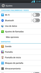 LG Optimus L9 - Internet - Ver uso de datos - Paso 4