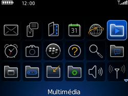 BlackBerry 8520 - Photos, vidéos, musique - Ecouter de la musique - Étape 3