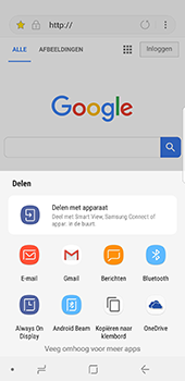 Samsung galaxy-s8-g950-android-oreo - Internet - Hoe te internetten - Stap 20