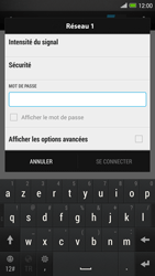 HTC One Max - Wifi - configuration manuelle - Étape 6