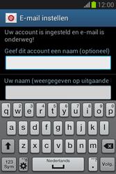 Samsung Galaxy Fame Lite (S6790) - E-mail - Account instellen (IMAP zonder SMTP-verificatie) - Stap 20