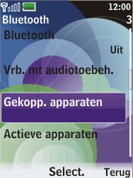 Nokia 7610 supernova - Bluetooth - headset, carkit verbinding - Stap 6