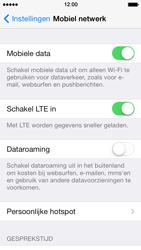 Apple iPhone 5s - Netwerk - Wijzig netwerkmodus - Stap 4