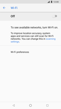Nokia 8 Sirocco - Wi-Fi - Connect to Wi-Fi network - Step 6