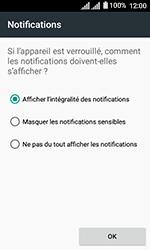 Alcatel U3 - Sécuriser votre mobile - Activer le code de verrouillage - Étape 11