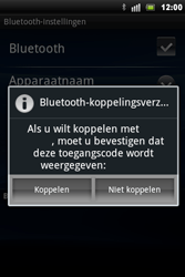 Sony Ericsson Xperia Mini Pro - Bluetooth - koppelen met ander apparaat - Stap 10