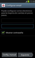 Samsung Galaxy S3 Mini - E-mail - Configurar correo electrónico - Paso 6
