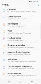 Samsung Galaxy S8 Plus - Internet no telemóvel - Como ativar os dados móveis -  4