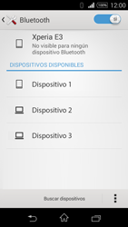 Sony D2203 Xperia E3 - Bluetooth - Conectar dispositivos a través de Bluetooth - Paso 6