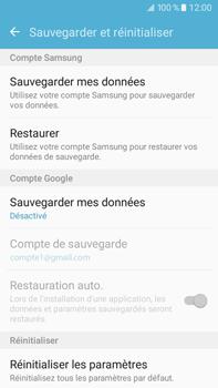 Samsung Galaxy J7 (2016) (J710) - Device maintenance - Back up - Étape 7