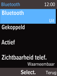 Nokia 220 - Bluetooth - Headset, carkit verbinding - Stap 6