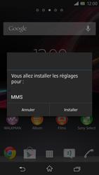 Sony C6603 Xperia Z - MMS - configuration automatique - Étape 5