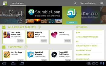 Huawei Mediapad S7-301u - Applications - Télécharger des applications - Étape 13