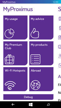 Microsoft Lumia 640 XL - Applications - MyProximus - Step 15