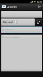 Sony Ericsson Xperia Arc met OS 4 ICS - E-mail - Hoe te versturen - Stap 8