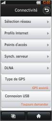 LG BL40 New Chocolate - Internet - Configuration manuelle - Étape 4