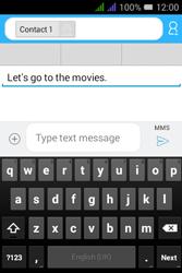 Alcatel Pixi 3 - 3.5 - MMS - Sending a picture message - Step 11