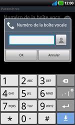 LG P920 Optimus 3D Speed - Messagerie vocale - Configuration manuelle - Étape 7