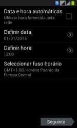 Samsung Galaxy Fresh Duos - Primeiros passos - Como ligar o telemóvel pela primeira vez -  8