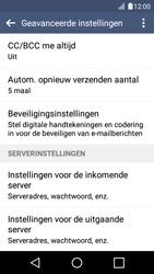 LG K4 - E-mail - Instellingen KPNMail controleren - Stap 12