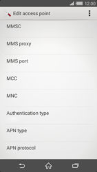 Sony Xperia Z2 (D6503) - MMS - Manual configuration - Step 11
