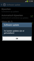 Samsung C105 Galaxy S IV Zoom LTE - Software update - update installeren zonder PC - Stap 9
