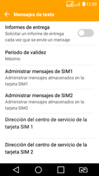 LG K4 (2017) - Mensajería - Configurar el equipo para mensajes de texto - Paso 9