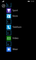 Nokia Lumia 635 - Applicaties - MyProximus - Stap 3
