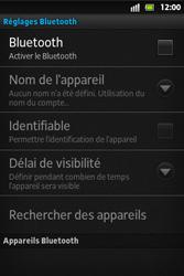 Sony ST27i Xperia Go - Bluetooth - connexion Bluetooth - Étape 8
